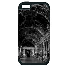 Vintage France palace of versailles mirrors galery 1970 Apple iPhone 5 Hardshell Case (PC+Silicone)