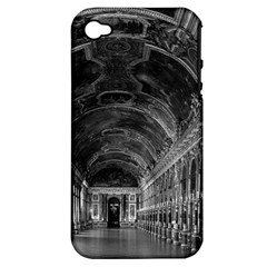 Vintage France palace of versailles mirrors galery 1970 Apple iPhone 4/4S Hardshell Case (PC+Silicone)