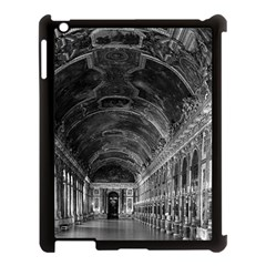 Vintage France Palace Of Versailles Mirrors Galery 1970 Apple Ipad 3/4 Case (black)