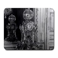 Vintage France Palace of Versailles astronomical clock Large Mouse Pad (Rectangle)