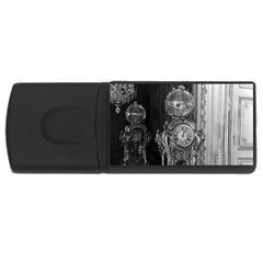 Vintage France Palace of Versailles astronomical clock 4Gb USB Flash Drive (Rectangle)