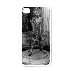 Vintage France Palace Of Versailles Astronomical Clock White Apple Iphone 4 Case