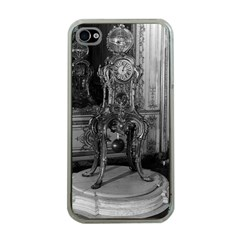 Vintage France Palace of Versailles astronomical clock Apple iPhone 4 Case (Clear)