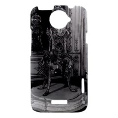 Vintage France Palace of Versailles astronomical clock HTC One X Hardshell Case