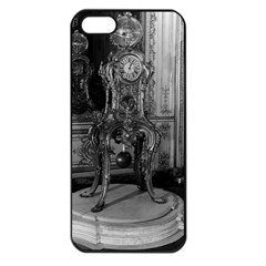Vintage France Palace of Versailles astronomical clock Apple iPhone 5 Seamless Case (Black)