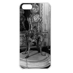Vintage France Palace of Versailles astronomical clock Apple iPhone 5 Seamless Case (White)