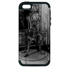 Vintage France Palace Of Versailles Astronomical Clock Apple Iphone 5 Hardshell Case (pc+silicone)