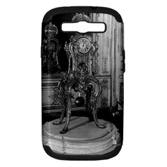 Vintage France Palace of Versailles astronomical clock Samsung Galaxy S III Hardshell Case (PC+Silicone)