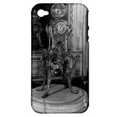 Vintage France Palace of Versailles astronomical clock Apple iPhone 4/4S Hardshell Case (PC+Silicone)