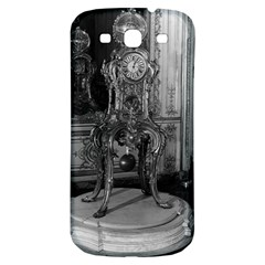 Vintage France Palace of Versailles astronomical clock Samsung Galaxy S3 S III Classic Hardshell Back Case