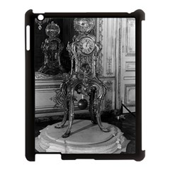 Vintage France Palace of Versailles astronomical clock Apple iPad 3/4 Case (Black)