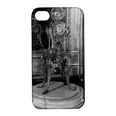 Vintage France Palace of Versailles astronomical clock Apple iPhone 4/4S Hardshell Case with Stand