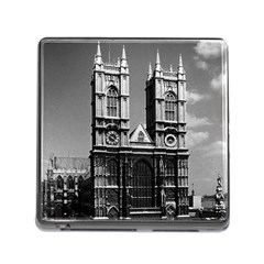 Vintage UK England London Westminster Abbey 1970 Card Reader with Storage (Square)