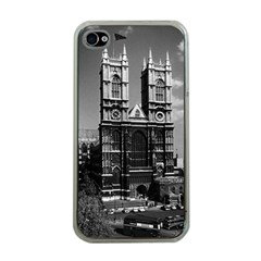 Vintage Uk England London Westminster Abbey 1970 Apple Iphone 4 Case (clear)