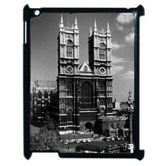 Vintage Uk England London Westminster Abbey 1970 Apple Ipad 2 Case (black)