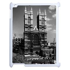 Vintage Uk England London Westminster Abbey 1970 Apple Ipad 2 Case (white)