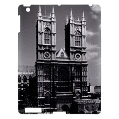 Vintage UK England London Westminster Abbey 1970 Apple iPad 3/4 Hardshell Case