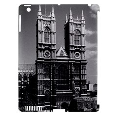 Vintage UK England London Westminster Abbey 1970 Apple iPad 3/4 Hardshell Case (Compatible with Smart Cover)