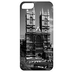 Vintage UK England London Westminster Abbey 1970 Apple iPhone 5 Classic Hardshell Case