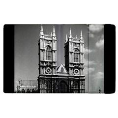 Vintage UK England London Westminster Abbey 1970 Apple iPad 2 Flip Case