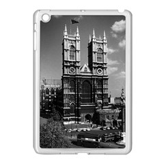 Vintage Uk England London Westminster Abbey 1970 Apple Ipad Mini Case (white)