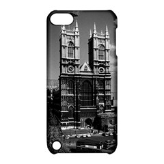 Vintage UK England London Westminster Abbey 1970 Apple iPod Touch 5 Hardshell Case with Stand