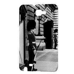 Vintage UK England London sentry at Buckingham palace Samsung Galaxy Note Hardshell Case