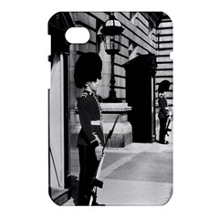 Vintage UK England London sentry at Buckingham palace Samsung Galaxy Tab 7  P1000 Hardshell Case