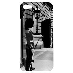 Vintage Uk England London Sentry At Buckingham Palace Apple Iphone 5 Hardshell Case