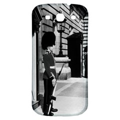 Vintage UK England London sentry at Buckingham palace Samsung Galaxy S3 S III Classic Hardshell Back Case