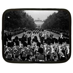 Vintage UK England the Guards returning along the Mall 12  Netbook Case