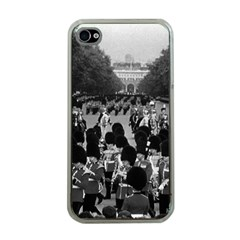 Vintage UK England the Guards returning along the Mall Apple iPhone 4 Case (Clear)
