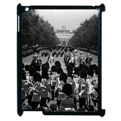 Vintage Uk England The Guards Returning Along The Mall Apple Ipad 2 Case (black)