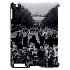 Vintage UK England the Guards returning along the Mall Apple iPad 2 Hardshell Case (Compatible with Smart Cover)