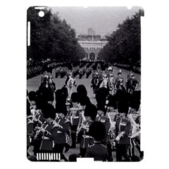 Vintage UK England the Guards returning along the Mall Apple iPad 3/4 Hardshell Case (Compatible with Smart Cover)