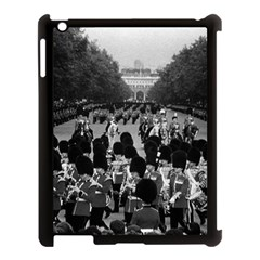 Vintage UK England the Guards returning along the Mall Apple iPad 3/4 Case (Black)