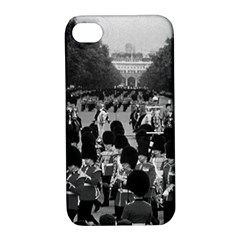 Vintage Uk England The Guards Returning Along The Mall Apple Iphone 4/4s Hardshell Case With Stand