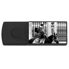 Vintage UK England  queen Elizabeth 2 Buckingham Palace 2Gb USB Flash Drive (Rectangle)