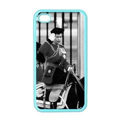 Vintage UK England  queen Elizabeth 2 Buckingham Palace Apple iPhone 4 Case (Color)