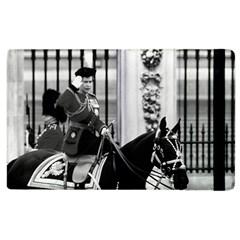 Vintage UK England  queen Elizabeth 2 Buckingham Palace Apple iPad 2 Flip Case
