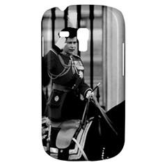 Vintage Uk England  Queen Elizabeth 2 Buckingham Palace Samsung Galaxy S3 Mini I8190 Hardshell Case