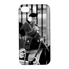 Vintage UK England  queen Elizabeth 2 Buckingham Palace Apple iPhone 4/4S Hardshell Case with Stand