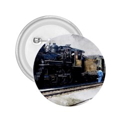 The Steam Train Regular Button (Round)