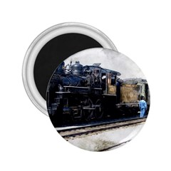 The Steam Train Regular Magnet (Round)