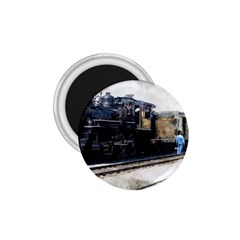The Steam Train Small Magnet (Round)