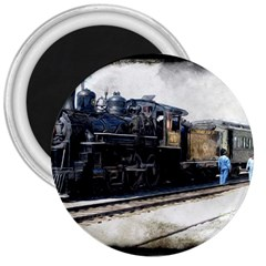 The Steam Train Large Magnet (Round)