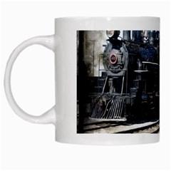 The Steam Train White Coffee Mug