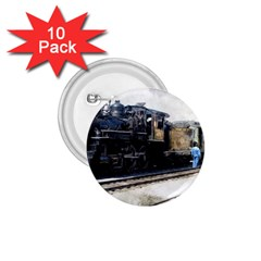 The Steam Train 10 Pack Small Button (Round)