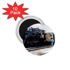 The Steam Train 10 Pack Small Magnet (Round)