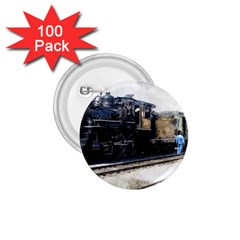 The Steam Train 100 Pack Small Button (Round)